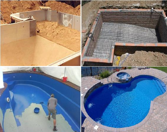Construct a Swimming Pool