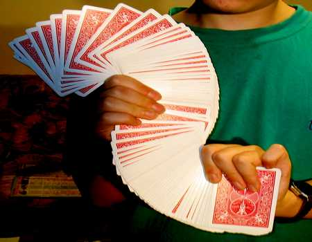 cool card tricks how to do a card trick 29168