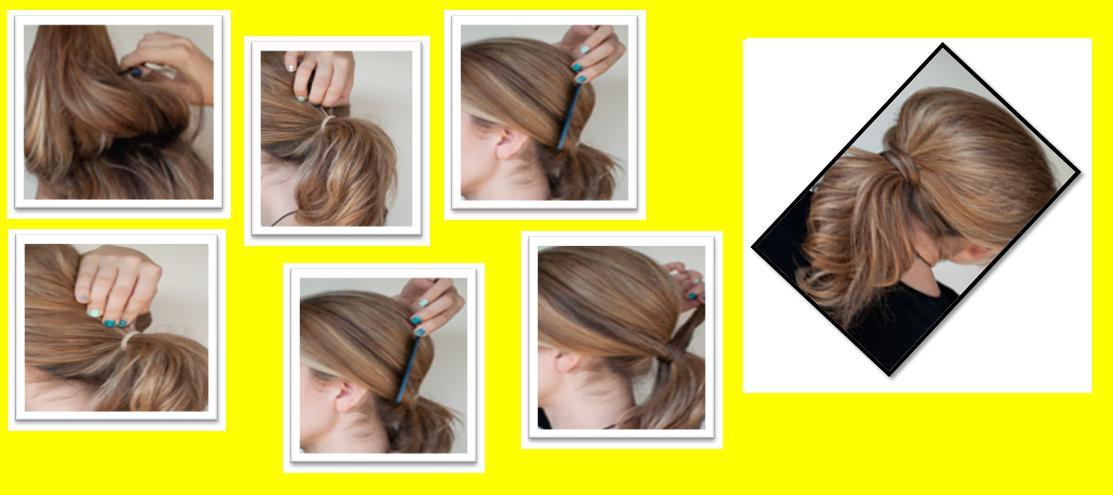 Make Chic Pony Hairstyle
