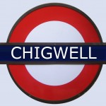 Chigwell Tube Station London