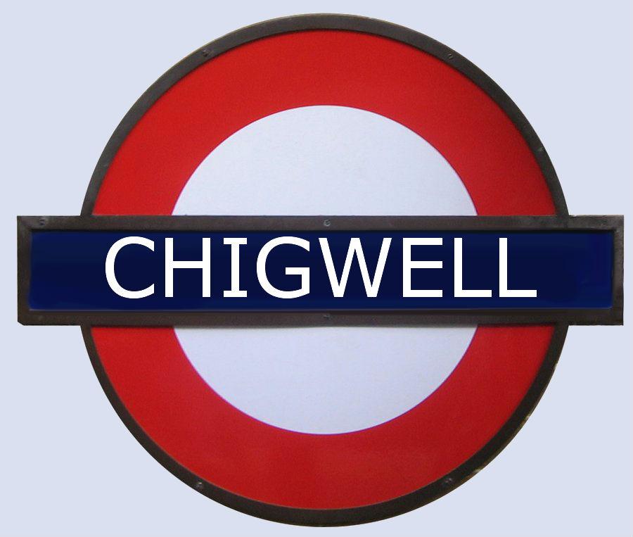Chigwell tube Station London