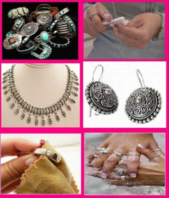 Clean Silver Jewelry on Steps For How To Clean Silver Jewelry