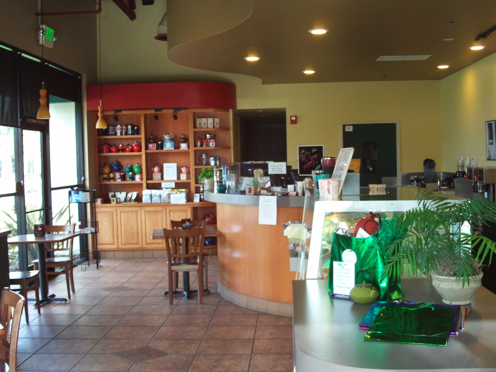 coffee shop inside