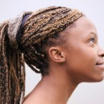 Girl with Cornrows