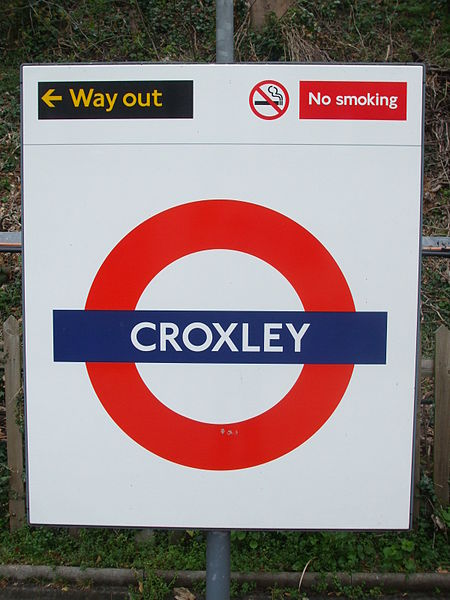 Croxley Tube Station London