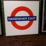 Dagenham East Tube Station