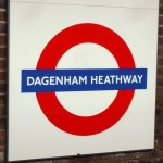 Dagenham Heathway Tube Station London