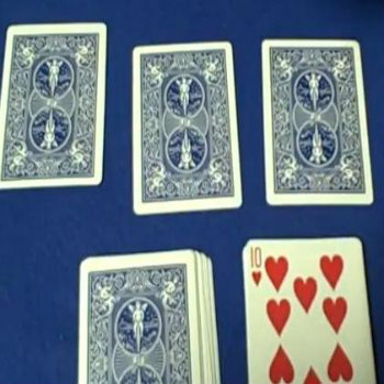 how to false cut a deck of cards