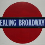Ealing Broadway Tube Station London