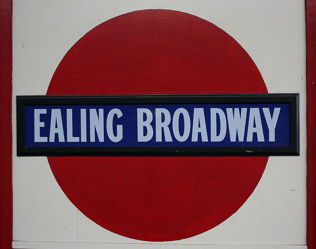 Ealing Broadway Tube Station London