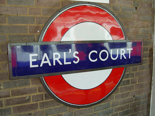 Earl's Court Tube Station