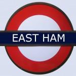 East Ham Tube Station London