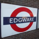 Edgware Tube Station London