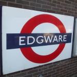 Edgware Tube station