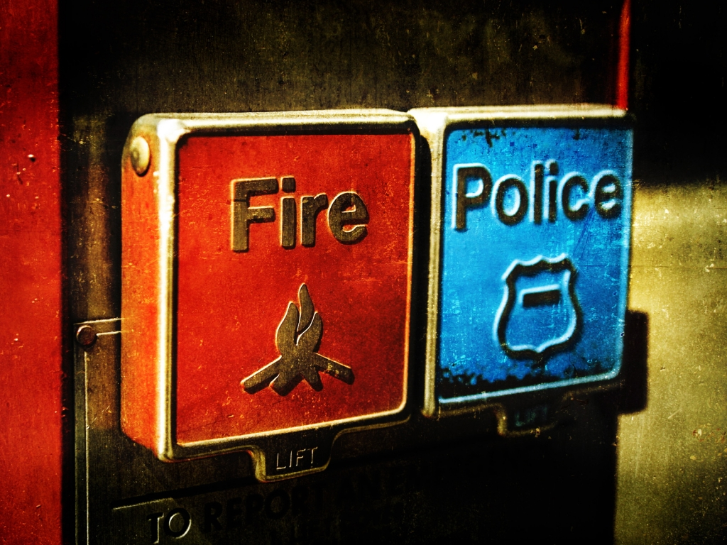 Emergency Fire And Police