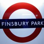 Finsbury Park Tube Station London