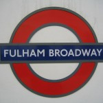 Fulham Broadway Tube Station London