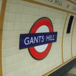 Gants Hill Tube Station London