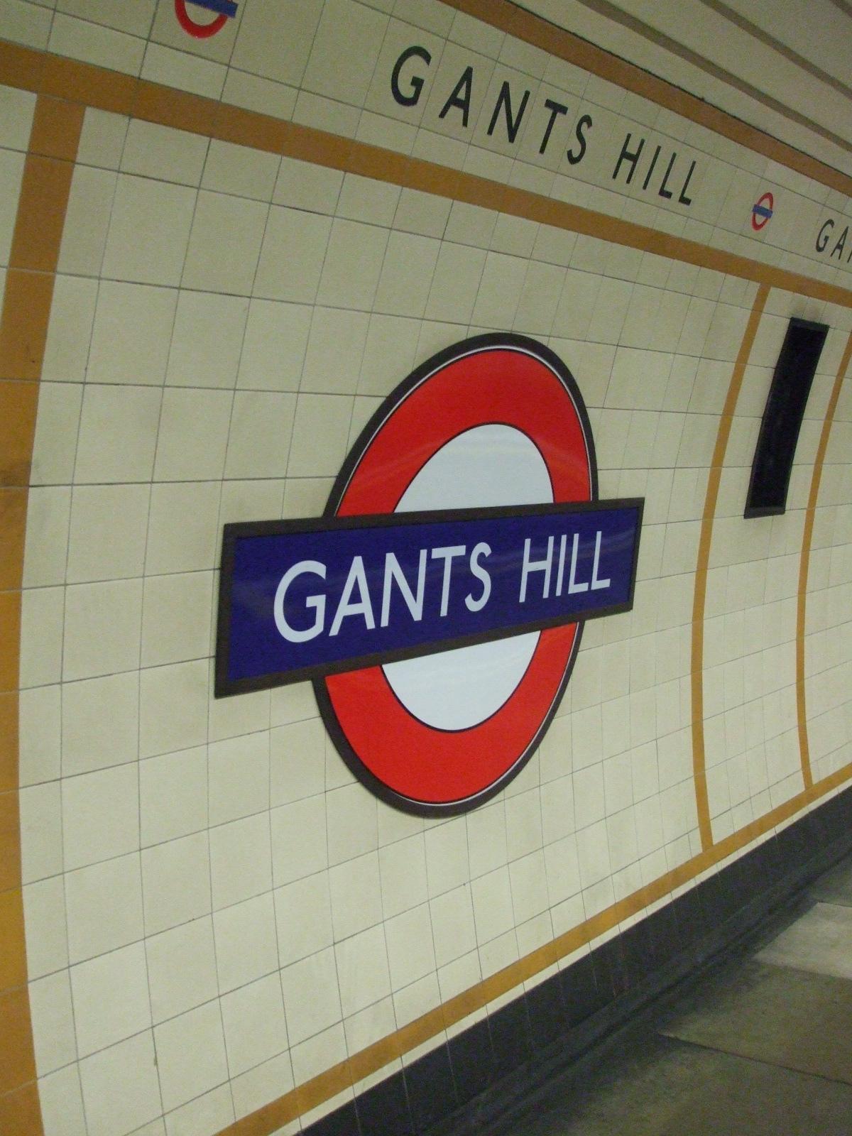 Gants Hill Tube Station London