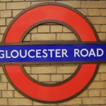 Gloucester Road Tube Station London