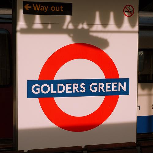Golders Green Tube Station London