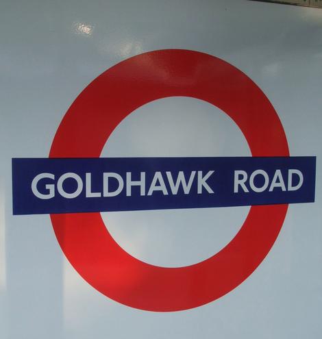 Goldhawk Road Tube Station London