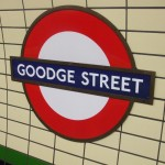 Goodge Street Tube Station London