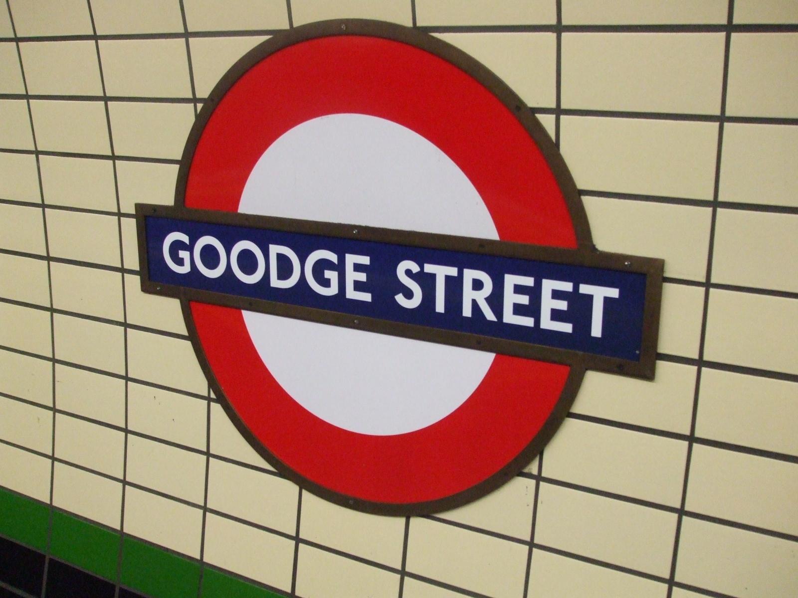 Goodge Street Tube Station London