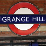 Grange Hill Tube Station London
