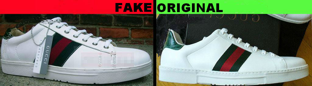 How To Spot Fake Gucci Shoes