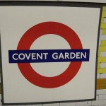 Covent Garden Tube Station London