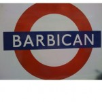Barbican Tube Station London