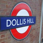 Dollis Hill Tube Station London