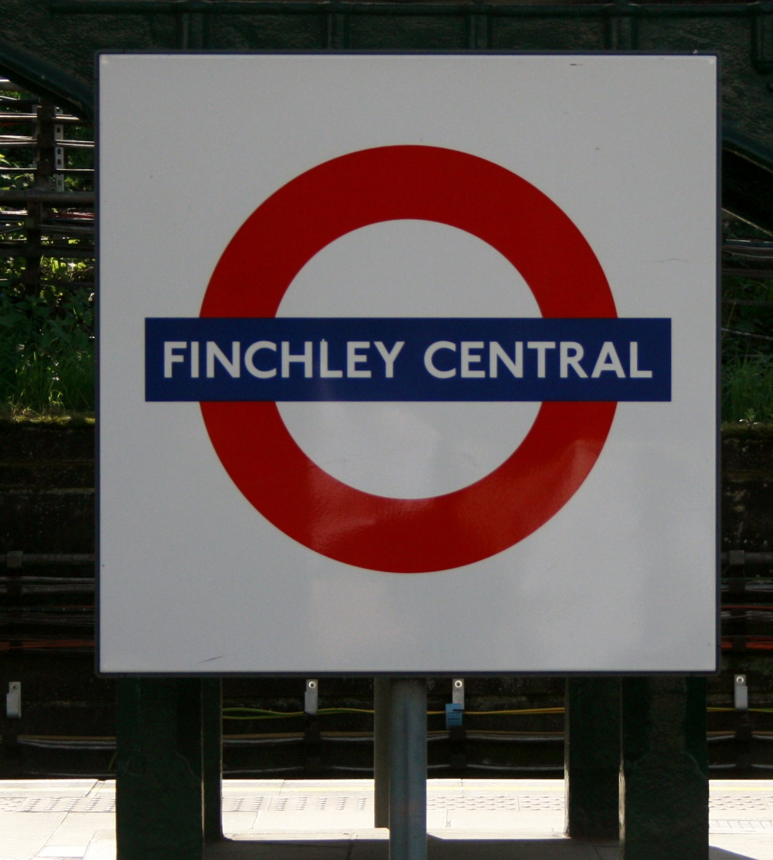 Finchley Central Tube Station London