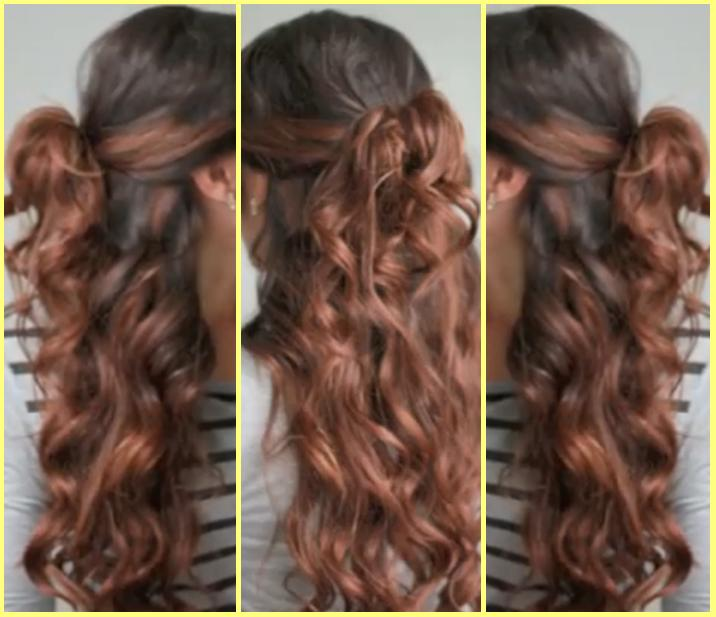 Half Up Down Hairstyle Guide For Girls