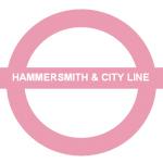Hammersmith and city tube line london underground