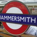 Hammersmith Tube Station London