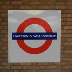 Harrow and Wealdston Tube Station London