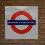 Harrow and Wealdston Tube Station London