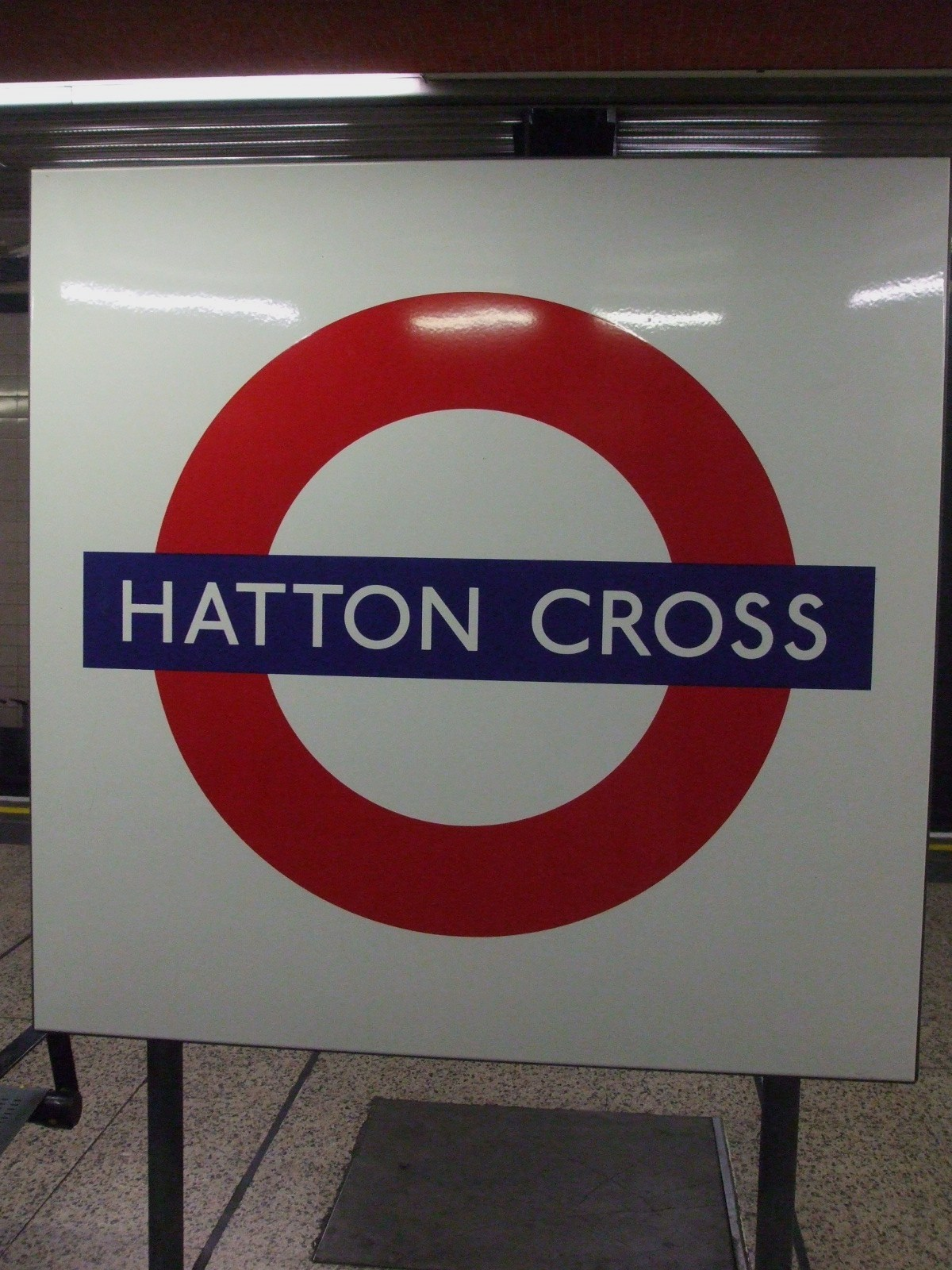 Hatton Cross Tube Station London
