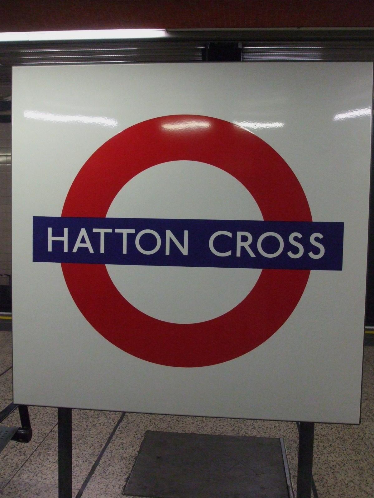 Hatton Cross Tube Station London