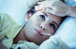 Having Fever