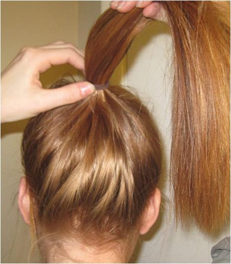 Make a High Pony Hairstyle