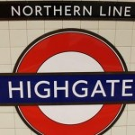 Highgate Tube Station London