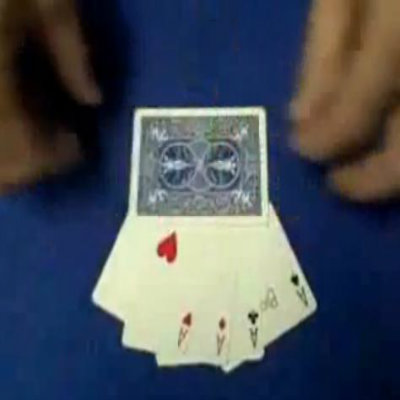 Hole In Card Trick