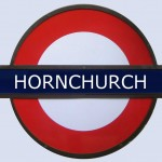 Hornchurch Tube Station London