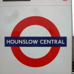 Hounslow Central Tube Station London