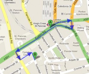 How to Get to Argyle Primary School, London