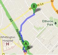 How to Get to Ashmount Primary School