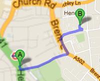 How to Get to Bell Lane Primary School